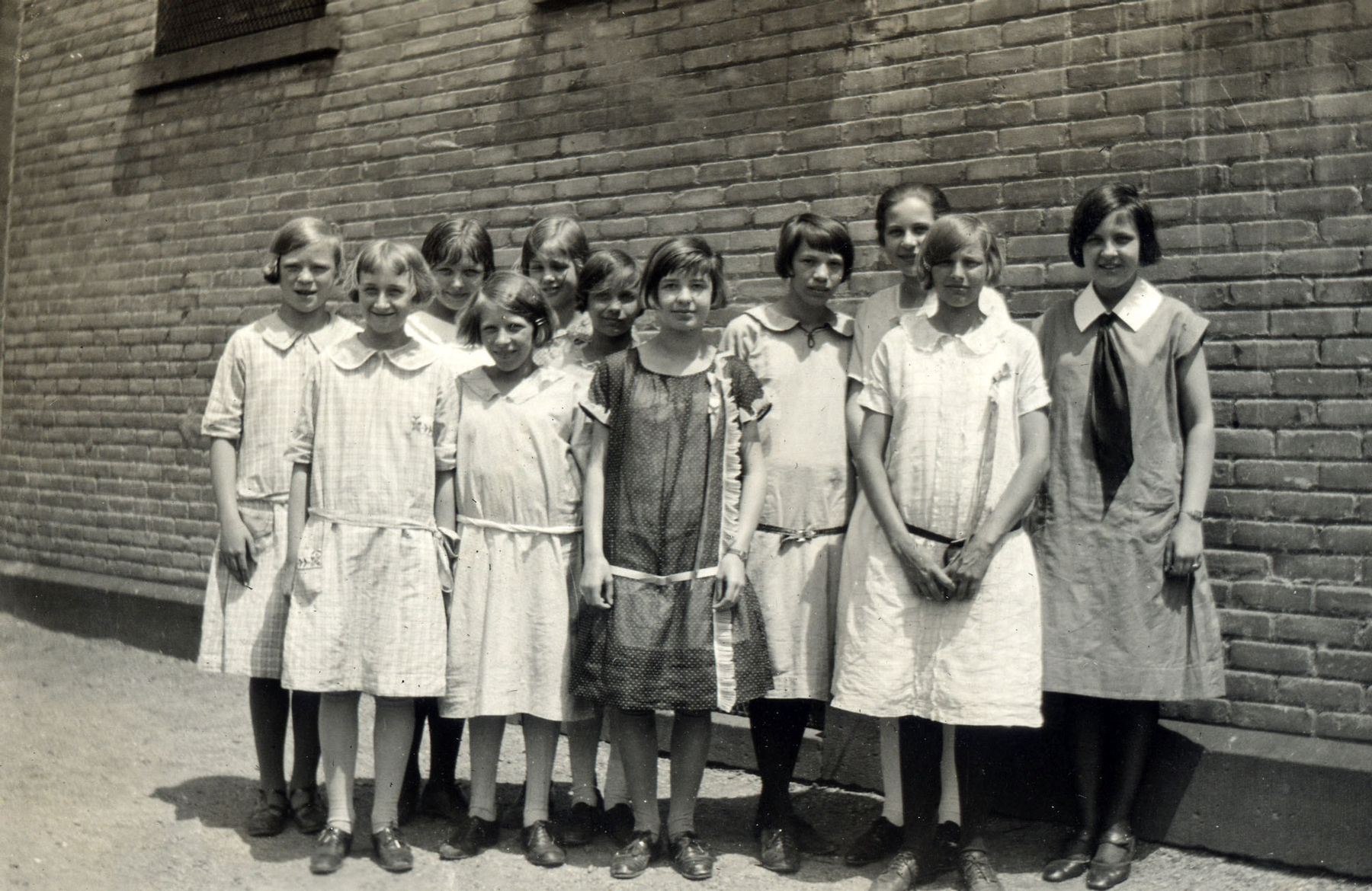 1929. The girls class from Trinity First.